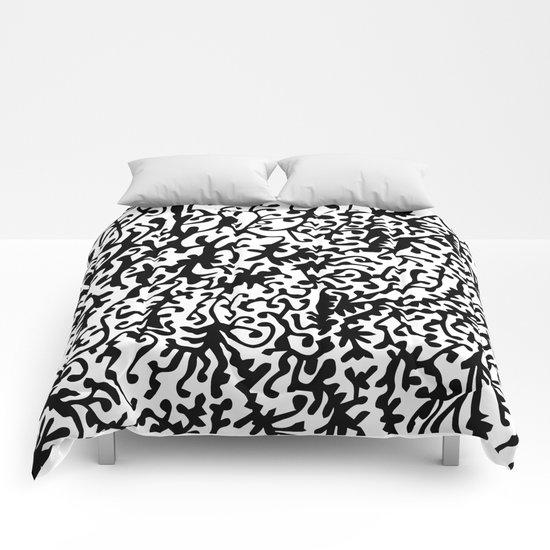 black organism Comforters