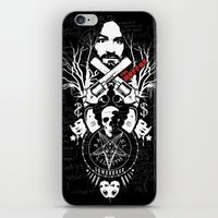 horror iPhone & iPod Skins featuring Horror by Lowercase Industry