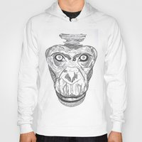 ape Hoodies featuring Ape by Eugene Lee