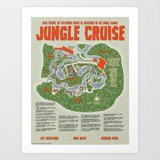 The Jungle Cruise Art Print