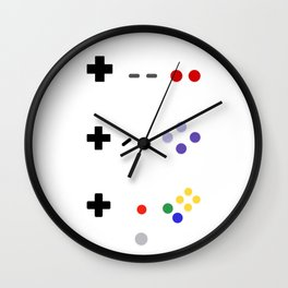 90's gaming Wall Clock