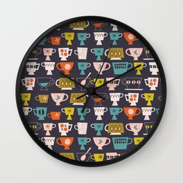 Tea Time Wall Clock