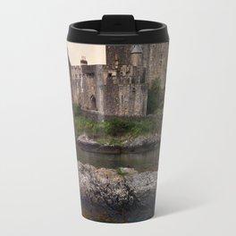 Eilean Donan Castle at sunrise Travel Mug