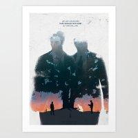 True Detective - The Long Bright Dark Art Print