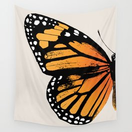 Monarch Butterfly | Left Wing Wall Tapestry