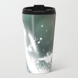 abstract background with highlights Travel Mug