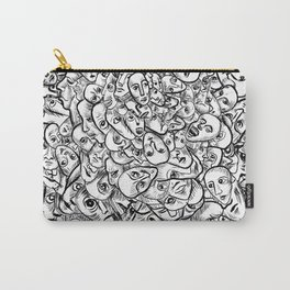 Faces and more faces Carry-All Pouch