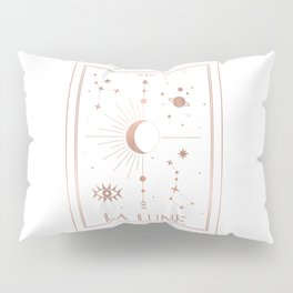 La Lune or The Moon White Edition Pillow Sham