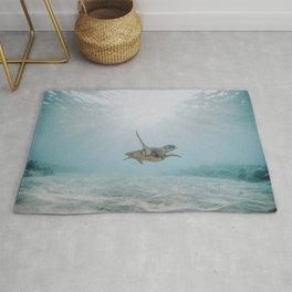 sea turtle iii Rug