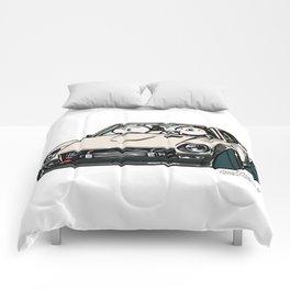 Crazy Car Art 0155 Comforters