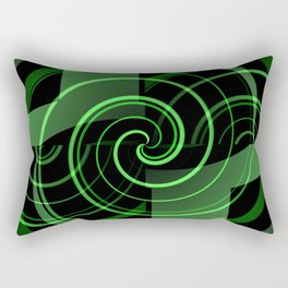 Mint & Licorice Fudge Rectangular Pillow