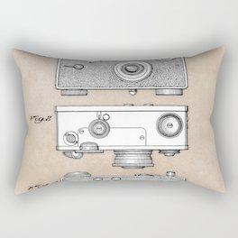 patent photographic camera 1938 Rectangular Pillow