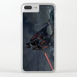After battle Clear iPhone Case
