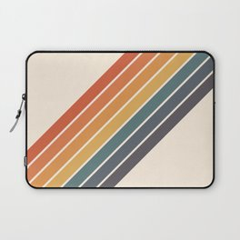 Arida -  70s Summer Style Retro Stripes Laptop Sleeve