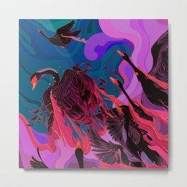 Fiery Rebirth Metal Print
