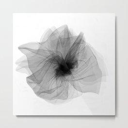 Black bow 5 Metal Print