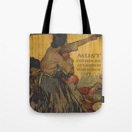 Liberty Bonds Vintage Poster Mother Baby Tote Bag