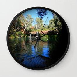 Natural Swimming Pool, Western Australia Wall Clock