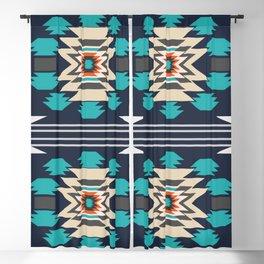 Double ethnic decor Blackout Curtain