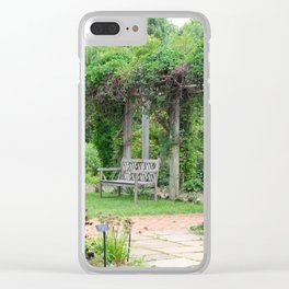 The Unbridled Heart Clear iPhone Case