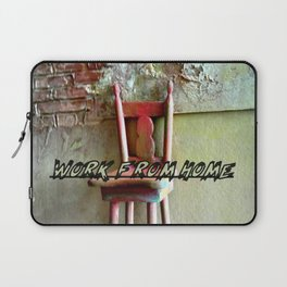 the magic chair / work from home 2 Laptop Sleeve