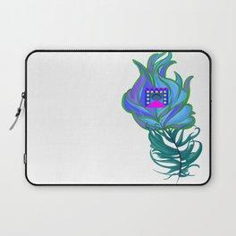 21st Century Peacock Feather Laptop Sleeve