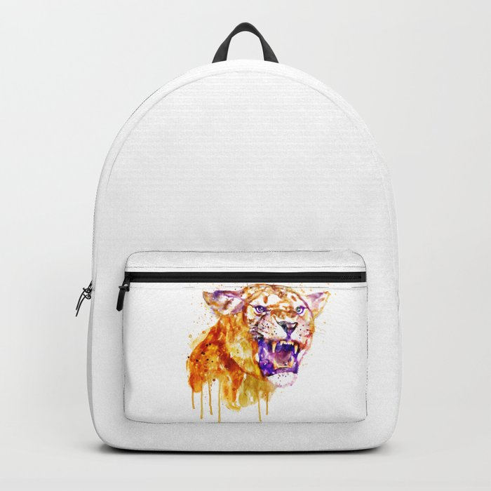 Angry Lioness Backpack