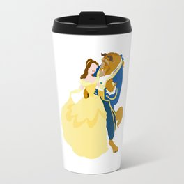 Belle and the beast Travel Mug
