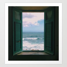 Atlantic Morning Art Print