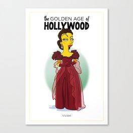 Golden Age: Vivien Canvas Print