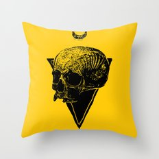 skull2 Throw Pillow