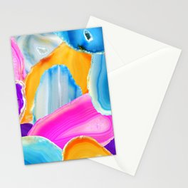 Geode Stationery Cards