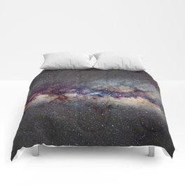 The Milky Way: from Scorpio, Antares and Sagitarius to Scutum and Cygnus Comforters
