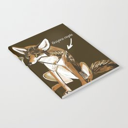 Coyotes in love Notebook
