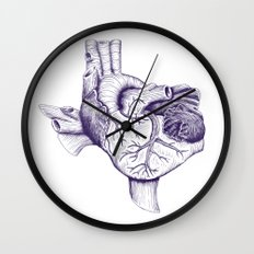 The Heart of Texas (TCU) Wall Clock
