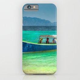 Tourist Longboat iPhone Case