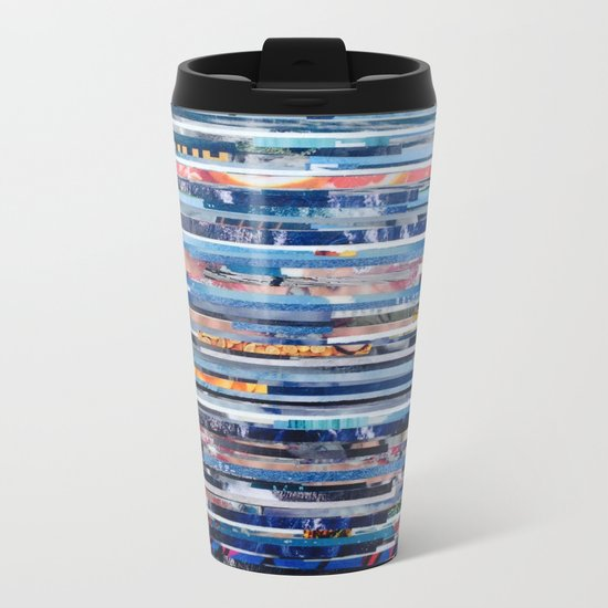 STRIPES 25 Metal Travel Mug