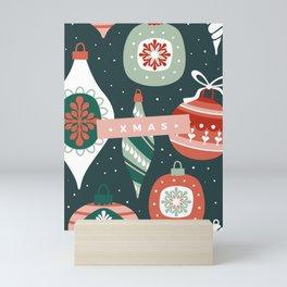 Xmas Ornaments Mini Art Print