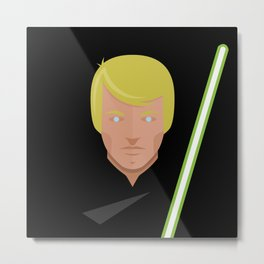 Lukes Return Metal Print
