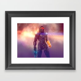 Shepard's Last Stand Framed Art Print