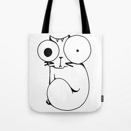 Psycho Cat Tote Bag