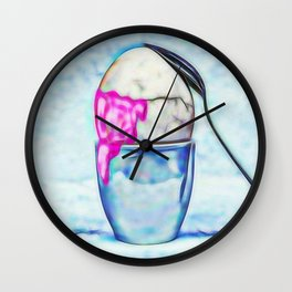 Egg Wall Clock
