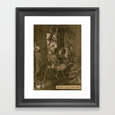 We are a very Lowly Pair Framed Art Print