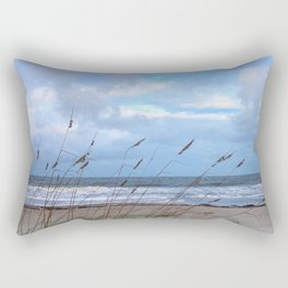 Sea Oats in the Wind Rectangular Pillow