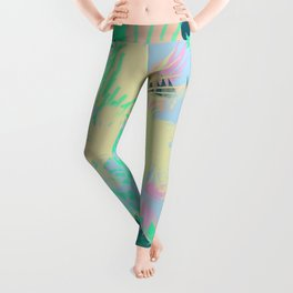Fly Like A Bird Leggings