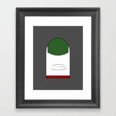 Bunny's Toe Framed Art Print