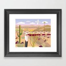 Scottsdale 101 Framed Art Print
