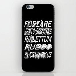 Harry Dresden's Iconic Spells iPhone Skin