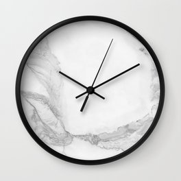 White Marble Edition 4 Wall Clock