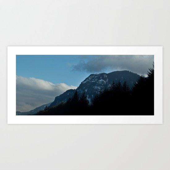 Columbia Gorge Art Print